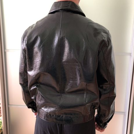 Чоловіча шкіряна куртка кожа мужская куртка весна шкірянка Львів -  зображення 4 66fc59d3e2f18