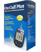 On call plus blood glucose meter and strips