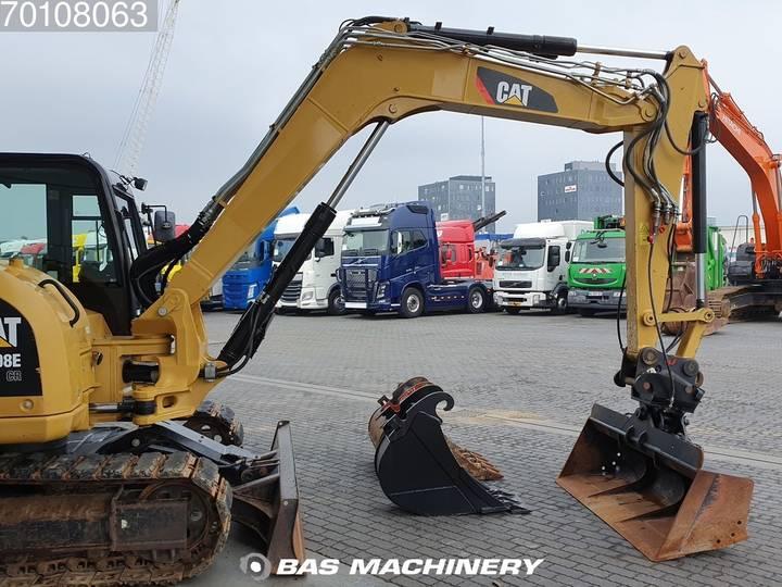 Caterpillar 308E 3 buckets - German dealer machine - 2012 - image 5