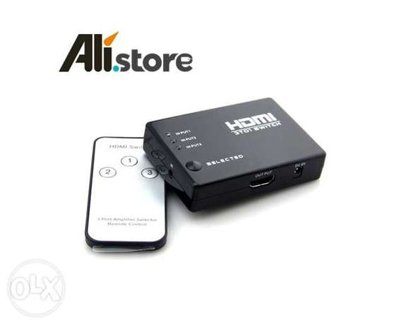 Hdmi Switch 1080P 3D