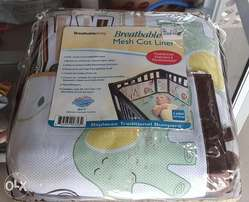 Baby Breathable Mesh Cot liner/Bumper