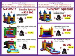 Jumping Castle Factory Winter Special. Sales Repairs Rentals