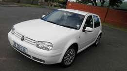 Vw golf 4 1.6sr for sale in excellent condition R 38000neg