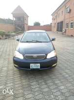 Less than 4months used Toyota corolla by a White man in Nigeria