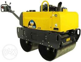Hire of twin drum hydraulic roller