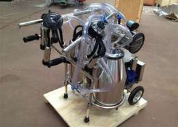 Portable electric milking machines for sale.