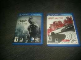 Psvita game card :Need for speed and blackgate