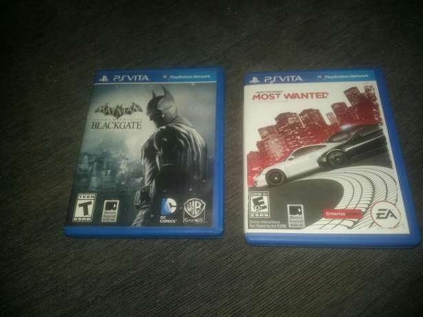 Psvita game card :Need for speed and blackgate Agege - image 1