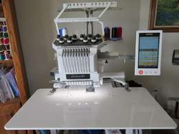 Brother PR 1000 10 Needle Embroidery Machine