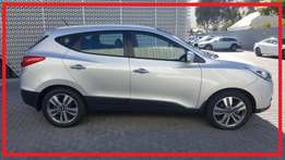 2015 Hyundai ix 35 2.0 Crdi Elite Awd Automatic with only 18137kms