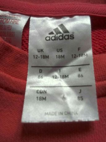 Bluza Adidas Adicolor Disney Kubuś Puchatek 18 miesięcy r