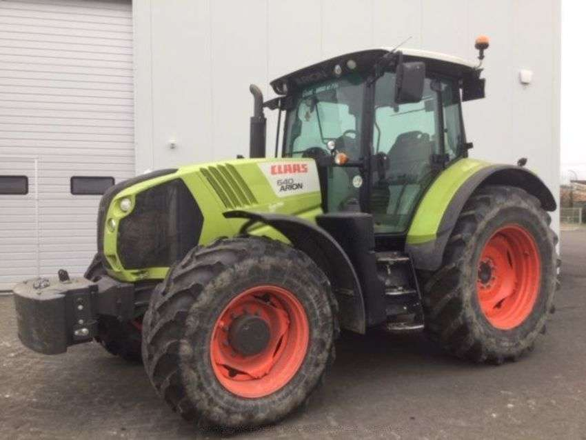 Claas arion 640 cis - 2014 - image 2