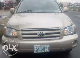 Less than 1 year used toyota Highlander 2006 model