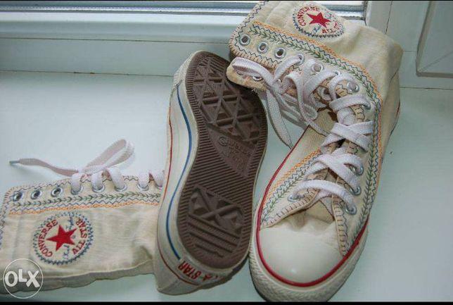 Converse all star высокие кеды конверсы кеди конверси сапоги кроссовки  Богородчаны - изображение 6 4844bbb912676