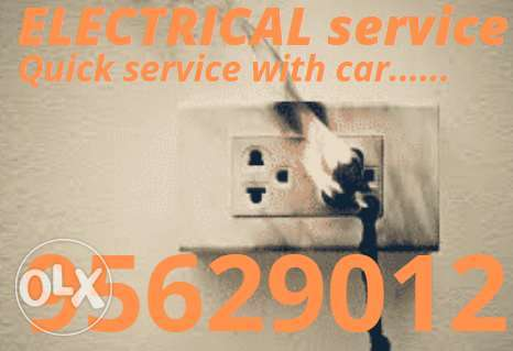 We have the professional and best services about electric works and fa