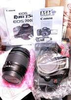 Canon DSLR 700D also known as T5i18mp, full kit