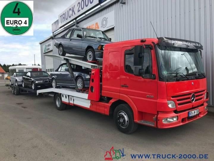 Mercedes-Benz 823 Mersch Doppelstock 4 PKW /3 Transporter 1.Hd - 2007