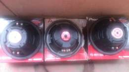 woofers/ pionear double coil