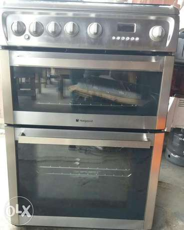 Hotpoint stainless gas cooker Surulere - image 8