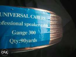 Speaker cable ..oxygen free