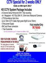 HD CCTV system special