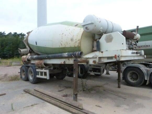 sf 36bm concrete mixer semi-trailer for sale by auction - 2019