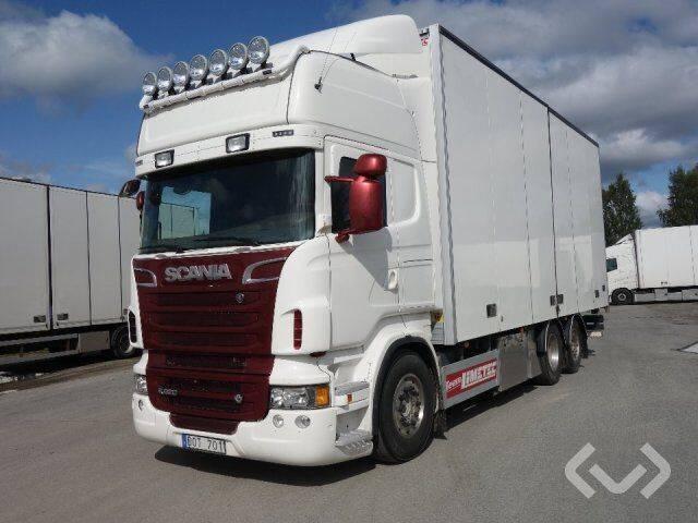 Scania R620LB MNB 6x2*4 Box (side doors) - 12 - 2019