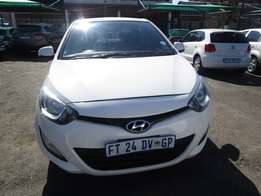 Finance available for 2013 Hyundai i20 , 4 doors,factory a/c,R107 000