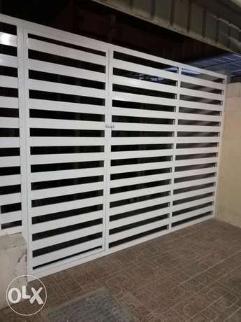 Optional aluminum gate