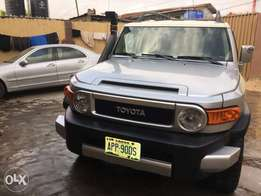 Extremely clean Nigerian used 2007 Toyota FJ Cruiser