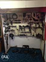 Assorted Mercedes diff and gear box different tool