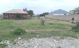 100 by 50 Plot for Sale Clean Freehold Title Deed in Bamburi Mombasa
