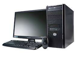 19inch lcd monitor keyboad and mouse(4gb ddr 3 ram )Intel Core i7 CPU.