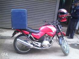 quick sale on motorbike