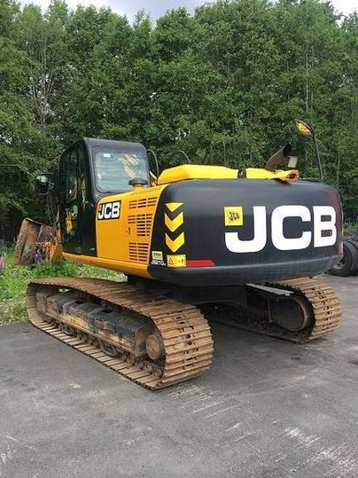 JCB Js 210lc T4 - 2014