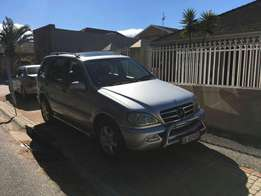 Mercedes ML 500 7 seater suv
