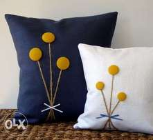 Bedroom and sitting room pillows