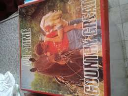 1977 all time country greats 6 set vinyl