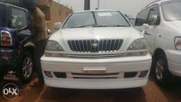 Harrier UAT/T 2.2cc pearlwhite on sale