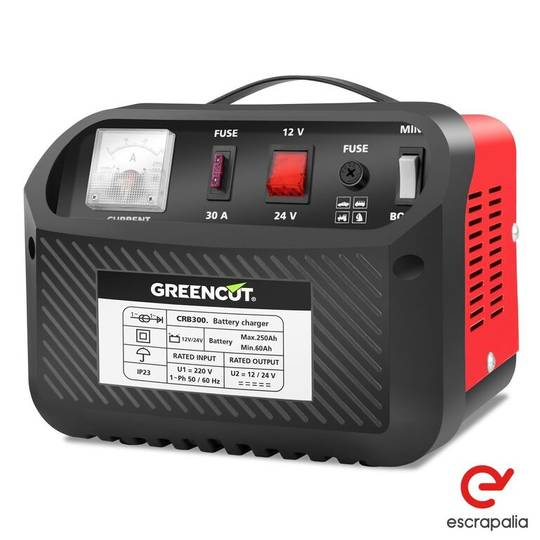 Sale cargador de bateria multifuncion 12v/24v 30a coche y moto