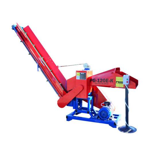New PG-120E-K wood chipper