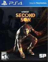 Second son for ps4
