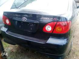 Foreign used Toyota corolla Sport 2004 model.
