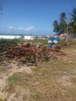 2 ACRES prime beach plot MALINDI