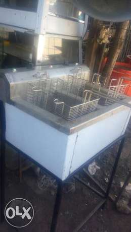 Deep fryer frier double basket Kamukunji - image 2