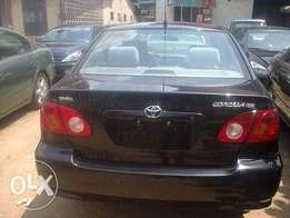 2003 Tokunbo Toyota Corolla For Sale