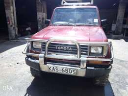 Toyota Prado box kas manual diesel local asking 650k