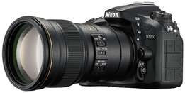 Nikon DSLR D7200 Nikkor (18-140mm lens) brand new FREE 16gb mem card