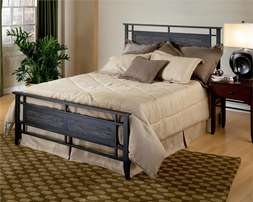 Industrial look beds. Great design. Call House of Chairs to order.