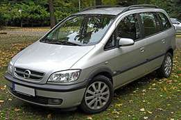 Opel Zafira wanted